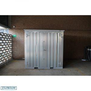 Demontabele Container 2 x 2 dubbele deur korte zijde