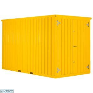 Gekleurde Demontabele Container 2 x 2 dubbele deur korte zijde