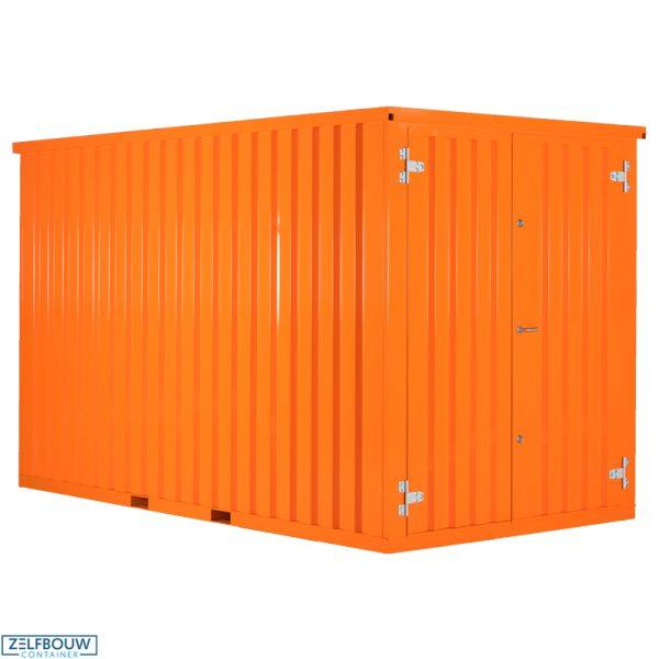 Gekleurde Demontabele Container 2 x 2 enkele deur korte zijde