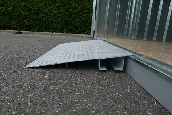 Oprijplaat voor enkele deur 100 x 50 cm