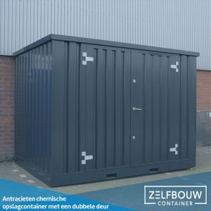 Chemische container 2 x 2 - Dubbele deur
