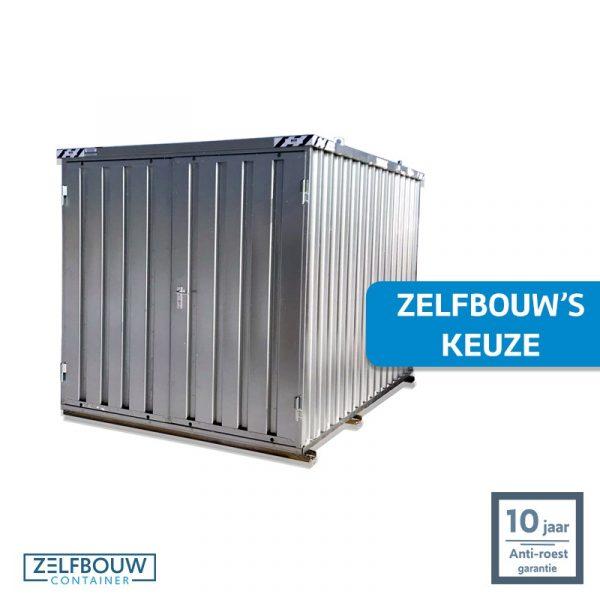 Demontabele Container 3 x 2 dubbele deur korte zijde