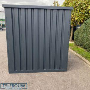 Demontabele Container Antraciet 3 x 2 enkele deur korte zijde