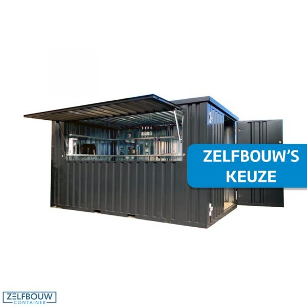 Demontabele bar container 4 x 2 meter