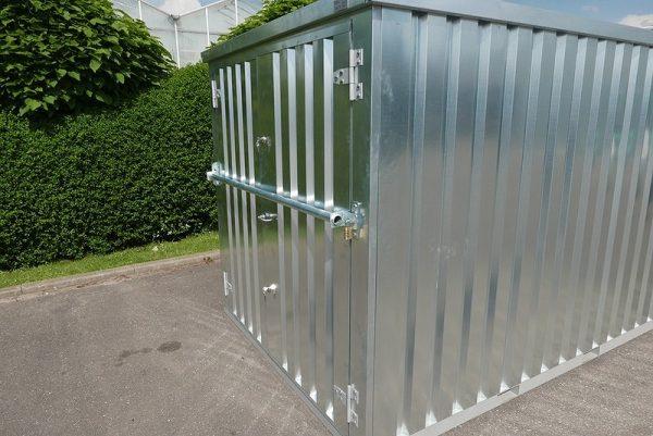 Inbraakveiligheidsbalk voor container
