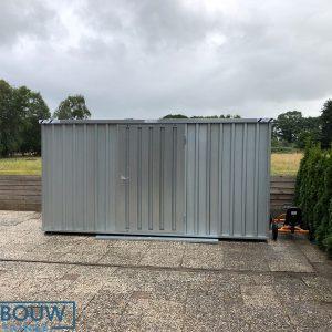 Demontabele Container 4 x 2 enkele deur lange zijde