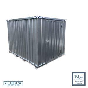 Demontabele Container 3 x 2 enkele deur korte zijde