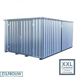 Grote opslagcontainer verhoogd model 4 x 4 x 2,4 m