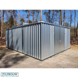 Grote opslagcontainer verhoogd model 5 x 4 x 2,4 m