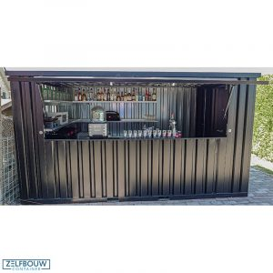 Demontabele bar container 3 x 2 meter