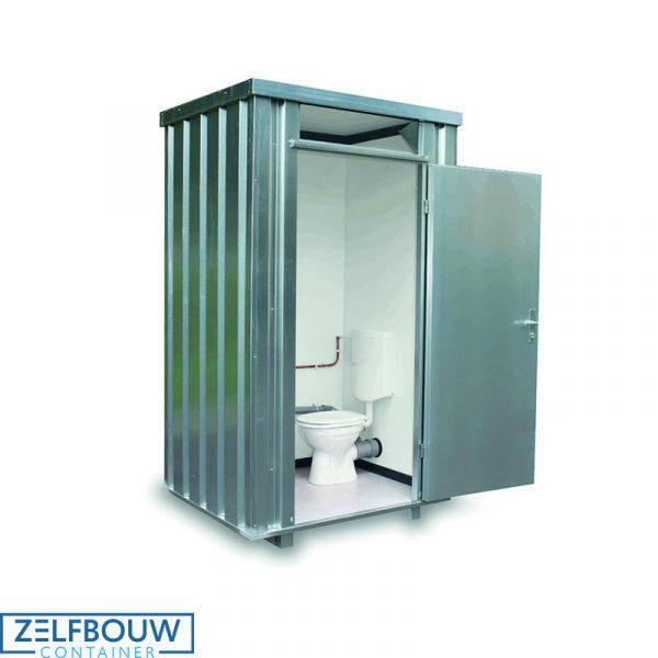 Mobiele sanitair unit 1,4 x 1,25