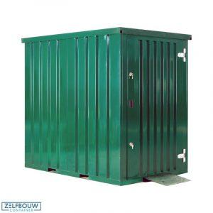 Container tuinhuis 1,5 x 2,2 meter - RAL 6009