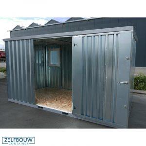 Demontabele container met ramen 4 x 2 meter in kleur
