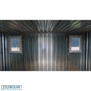 Demontabele container met ramen 4 x 2 meter