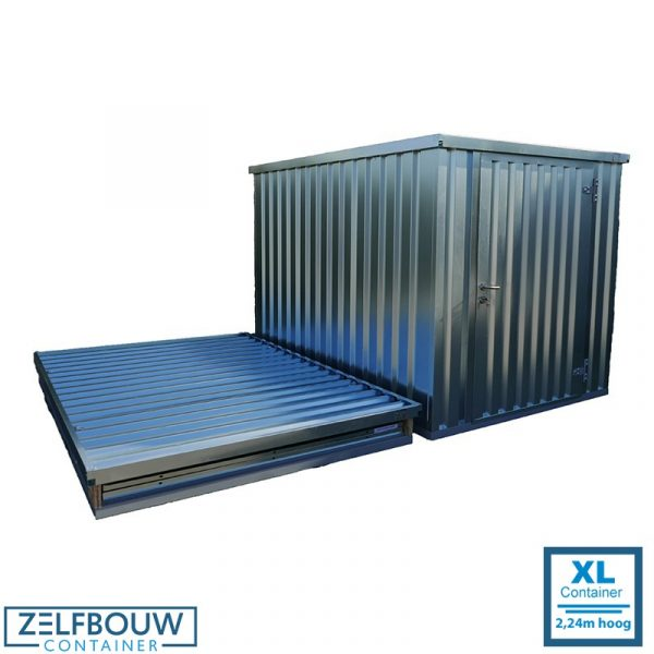 8 ft zeecontainer 1,94 x 2,21 x 2,24 m