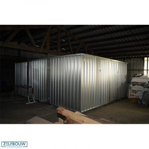 Grote opslagcontainer verhoogd model 5 x 6 x 2,4 m