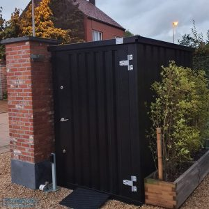 Container tuinhuis 1,5 x 2,2 meter - RAL 9005