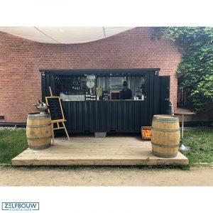 Demontabele bar container 4 x 2 meter