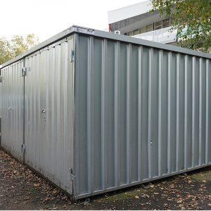 Demontabele Snelbouw Container 3x2 tweedehands - Veel gebruikssporen