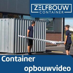 Demontabele Container 2 x 2 enkele deur korte zijde