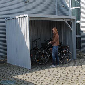Demontabele fietsenstalling 3 x 2 meter