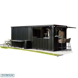 Demontabele buitenbar container 6 x 2 meter 20ft